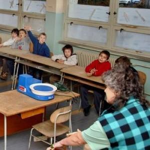 Prednáška na základnej škole